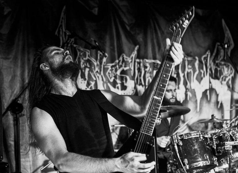 Insidius - death metal concert - Kaliningrad 2019